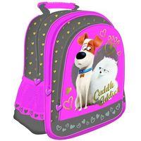 Plecak szkolny THE SECRET LIFE OF PETS + zakładka do książki GRATIS