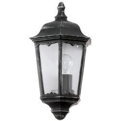 Zewnętrzna LAMPA ścienna NAVEDO 93459 Eglo klasyczna OPRAWA ogrodowa IP44 outdoor patyna czarny - produkt z kategorii- Lampy ogrodowe