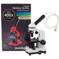 Mikroskop Cyfrowy Levenhuk Rainbow D2L 0.3M, Moonstone\Kamień Księżycowy