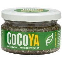 Cocoya  180g włoskie zioła pasta kokosowa z chia | darmowa dostawa od 150 zł!