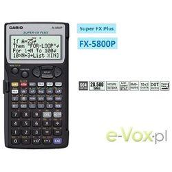Kalkulator Casio FX-5800P Darmowy odbiór w 19 miastach!, FX-5800P