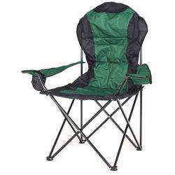 Happy Green krzesło wędkarskie KORFU, zielone (8591022380956)