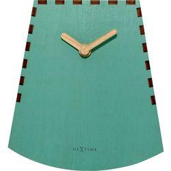 Zegar stojący Rocky turkusowy by Nextime, kolor niebieski