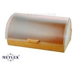 CHLEBAK BAMBUSOWY Z POKRYWĄ AKRYLOWĄ METLEX MX-1600 - produkt z kategorii- Chlebaki