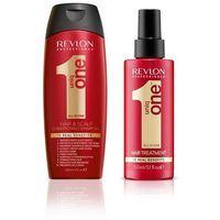 Revlon Uniq One Zestaw: szampon 300ml + kuracja 150ml (9753197531204)