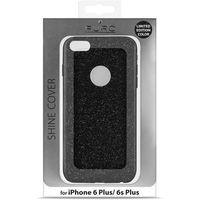 PURO Glitter Shine Cover - Etui iPhone 6s Plus / iPhone 6 Plus (Piano Black) Limited edition, IPC655SHINEBLK