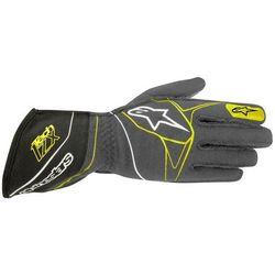 Rękawice  tech 1-z - szaro / zielony \ s wyprodukowany przez Alpinestars