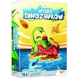 FoxGames, Wyspa dinozaurów, gra towarzyska - produkt z kategorii- Gry planszowe