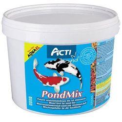 Aqua el acti pond mix - pokarm wieloskładnikowy dla ryb stawowych 11l