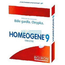 BOIRON Homeogene 9 x 60 tabl. - produkt farmaceutyczny