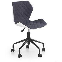 Halmar Młodzieżowy fotel obrotowy - matrix - popiel