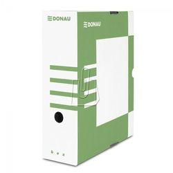 Pudełko archiwizacyjne 100mm Donau zielone, BP7357