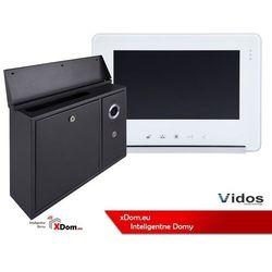 Zestaw Vidos S551-SKN Skrzynka na listy z wideodomofonem, Monitor 7'' wideodomofonu M690WS2