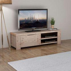 Vidaxl Szafka tv ze szotkowanego drewna akacjowego, 140x38x40cm