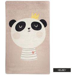 SELSEY Dywan do pokoju dziecięcego Dinkley Panda 100x160 cm