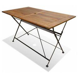 Składany stół ogrodowy - Lantes, vidaxl_43728
