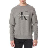 Calvin Klein Bluza Szary XXL, kolor szary