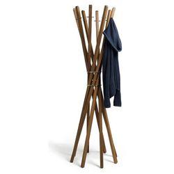 Wieszak na ubrania stojący marilyn orzech marki Keilbach