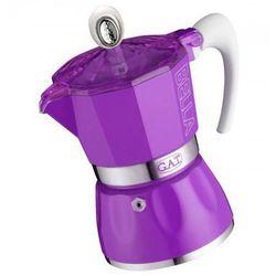 kawiarka do espresso na 3 filiżanki (2790000082) kolor fioletowy >> promocje - neoraty - szybka wysyłka - darmowy transport od 99 zł! marki Gat