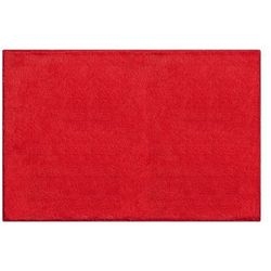 dywanik łazienkowy manhattan, ruby czerwony, 70x120cm marki Grund