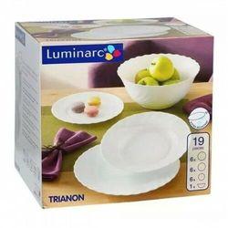 Komplet obiadowy 19 el. trianon szkło hartowane marki Luminarc