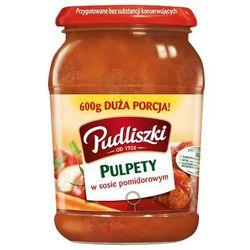 600g pulpety w sosie pomidorowym, marki Pudliszki