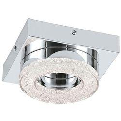Eglo Plafon fradelo 95662 lampa sufitowa ścienna 1x4w led chrom/kryształ (9002759956622)