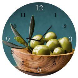 Zegar ścienny STYLER OLIVES BH007, BH007 OLIVES