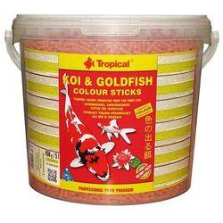 Koi&goldfish colour sticks pokarm dla ryb w stawach 5l/450g marki Tropical