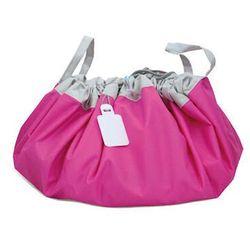 El minio Flexi bag - pojemna i wygodna torba na zabawki - różowa ciemna, kategoria: pojemniki na zabawki