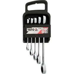 Zestaw kluczy oczkowych z grzechotką 5cz. / YT-5038 / YATO - ZYSKAJ RABAT 30 ZŁ
