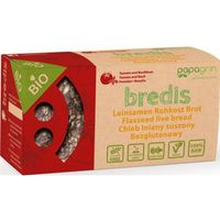 Papagrin (przekąski raw) Chleb lniany suszony z pomidarami i bazylią bezglutenowy bio 70 g - papagrin