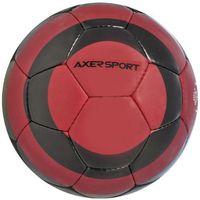 Piłka nożna  black rock czerwono-czarny (rozmiar 5) marki Axer sport