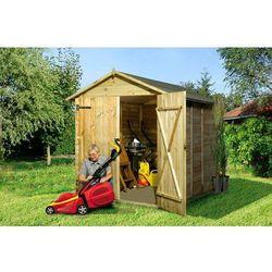 Domek narzędziowy Cynia 1800 x 1800 - produkt z kategorii- Altany i domki ogrodowe
