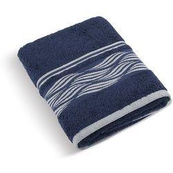 Bellatex Ręcznik kąpielowy Fala niebieski, 70 x 140 cm, 70 x 140 cm z kategorii Ręczniki