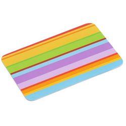 Kesper Dekoracyjna deska do krojenia z melaminy w kolorowe paski, ozdobna deska, deska kuchenna, akcesoria kuchenne,