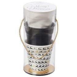 Kubki gniecione do espresso zestaw 3 szt. renne - marki Revol
