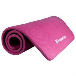 Mata do ćwiczeń inSPORTline Fity Gruba i miękka 1,5 cm - Kolor fioletowy, kup u jednego z partnerów