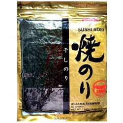 Glony do sushi Nori Gold 50 szt. - Sevenco (8809414150125)