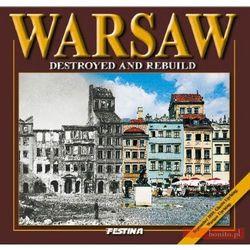 WARSZAWA ZBURZONA I ODBUDOWANA WER.ANG TW (ISBN 9788361511984)