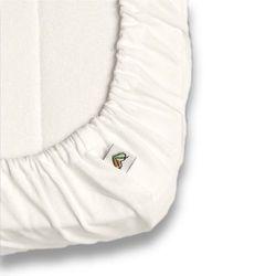 Nanaf organic Prześcieradło do łóżeczka , do spania i kąpania, naturalne 60x120 cm - naturalny