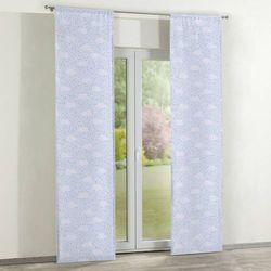 zasłony panelowe 2 szt., białe chmurki na błękitnym tle, 60 × 260 cm, apanona do -30% marki Dekoria