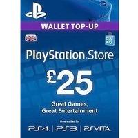 PSN £25 Prepaid Card