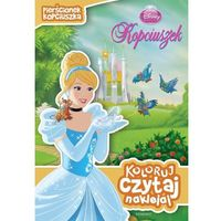 Disney Księżniczka. Koloruj, czytaj, naklejaj. Pierścionek Kopciuszka (9788328105737)