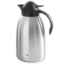 Termos do kawy z czarnym przyciskiem, 2 l   , 446706 marki Hendi