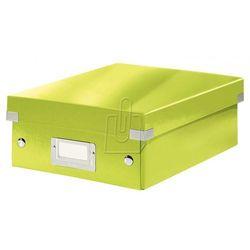 Pudło Click & Store z przegródkami małe zielone 6057