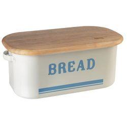 Chlebak emaliowany z deską  retro marki Jamie oliver