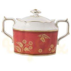india red cukiernica z pokrywą marki Royal crown derby