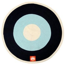 Okrągły dywan - niebieski - sprawdź w wybranym sklepie