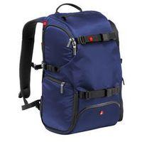 Manfrotto Plecak TRAVEL niebieski + kamera sportowa Nilox za 1zł - produkt z kategorii- Kamery sportowe